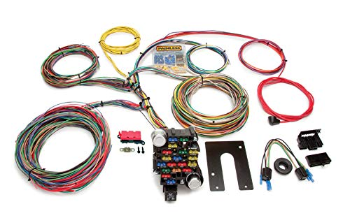 Painless 10202 Classic-Plus Customizable Chassis Harness (Key in Dash - 28 Circuits), 1 Pack