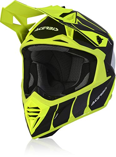 Acerbis X-Track Casco Motocross Nero/Giallo L (59/60)