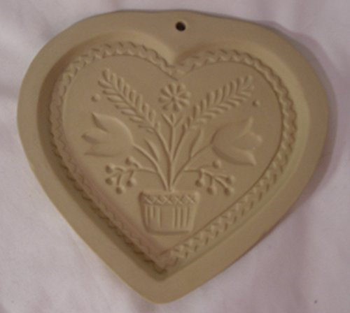 Brown Bag 1994 Swiss Folk Art Heart Cookie Mold