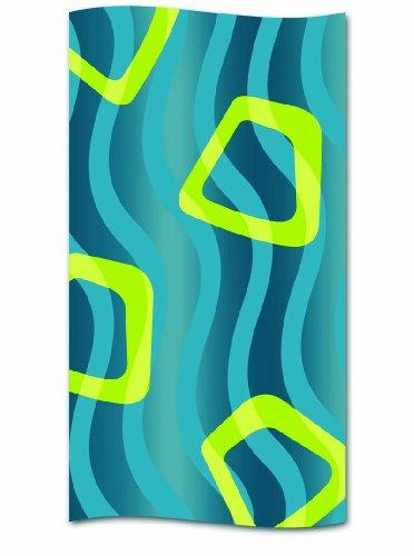 kela Duschvorhang Wavy Polyester 180 x 200 cm