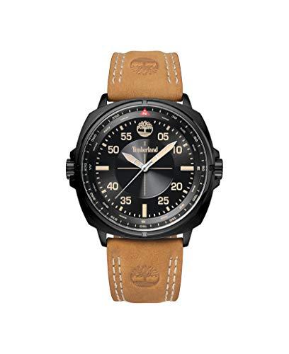 Timberland Reloj Analógico para Hombre de Cuarzo con Correa en Cuero TBL.15516JSB/02