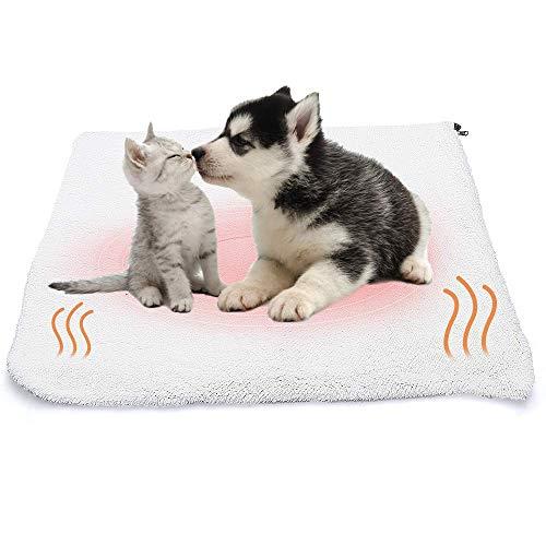 ASANMU Selbstheizende Decke für Katzen & Hunde, Wärmematte für Haustiere...
