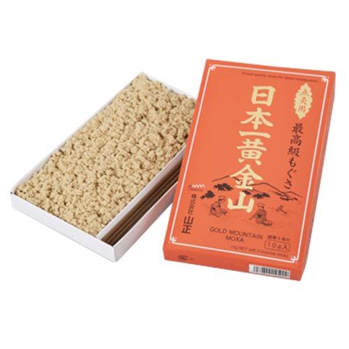山正『小分けもぐさ 赤箱日本一黄金山』