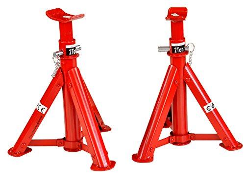 Pro-Lift-Montagetechnik 2x2t Unterstellböcke, faltbar, Höhe 277mm-365mm, 42004T, 01424