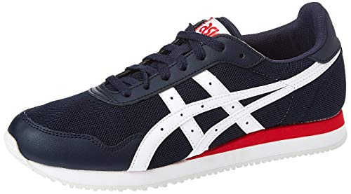Asics Onitsuka Tiger California 78 Ex, Zapatillas de Running para Hombre, Multicolor (Midnight/White 400), 42.5 EU