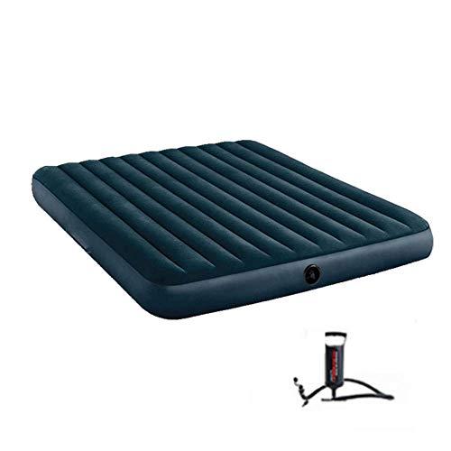 WCY Tragbare aufblasbares Doppelbett, schart Air Matratze for...