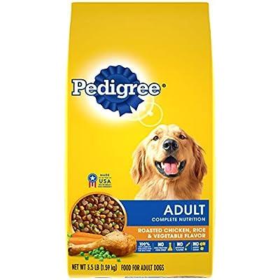 PEDIGREE Complete Nutrition Adult Dry Dog Food Roasted Chicken, Rice & Vegetable Flavor Dog Kibble, 3.5 lb. Bag