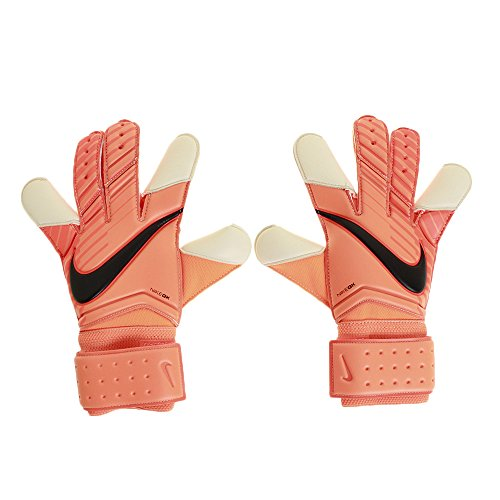 NIKE Vapor Grip 3–Guantes de Portero, Primavera/Verano, Unisex, Color Total Orange/Hyper Crimson/White/Black, tamaño 8