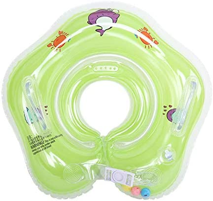 Baby Swimming Float Baby Infant Inflatable Neck Float Ring for Bath Swimming Childrens First product image