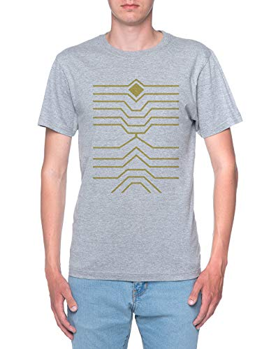 Delavi Halcones Bnha Camiseta Hombre Gris T-Shirt Men's Grey
