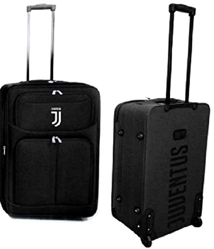 Trolley Juventus Juve JJ Originale Ufficiale Valigia Bagaglio Enzo Castellano TRJJ65MED