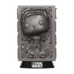 From Star Wars, Han Solo in Carbonite, as a stylized POP from Funko! Figure stands 3 3/4 inches and comes in a window display box. Check out the other Star Wars figures from Funko! Collect them all! Stylized collectable stands 3 ¾ inches tall, perfec...