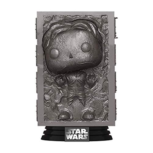 Funko- Pop Star Wars-Han in Carbonite ESB 40th Anni Figura Coleccionable, Multicolor (48328)