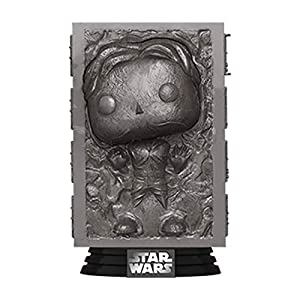 Funko Pop! Star Wars: Han Solo in Carbonite, Multicolor - 41SIv2BvIVL - Funko Pop! Star Wars: Han Solo in Carbonite, Multicolor