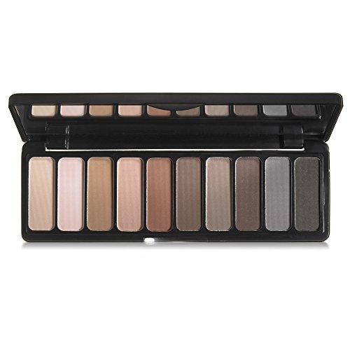 e.l.f. Eyeshadow Palette Matte, Nude mood , 0.49 Ounce