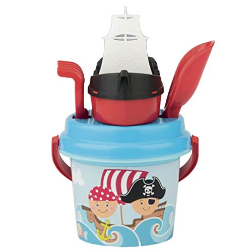 Simba 107114082 - Pirat Baby Eimergarnitur Sandspielzeug