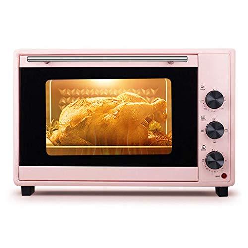 Mini horno de 40 l con temperatura ajustable 0-230 ℃ y temporizador...