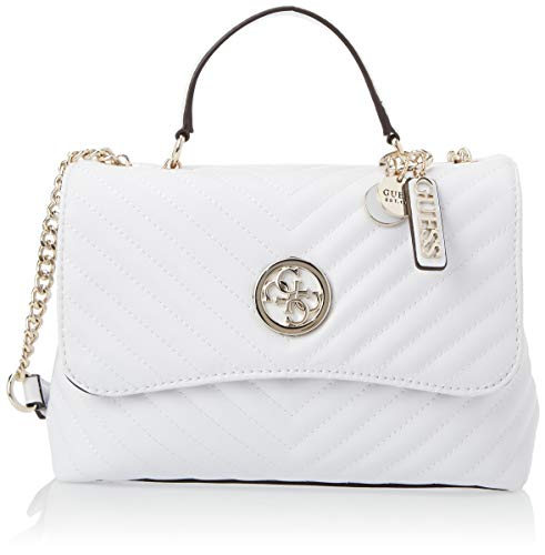 Guess Blakely Top Handle Flap White