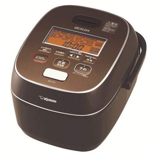 象印 圧力IH炊飯器(5.5合炊き) ブラウン ZOJIRUSHI 極め炊き NW-JC10-TA