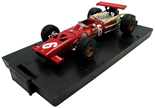 Brumm - R302 - Véhicule Miniature - Modèle À L'échelle - Ferrari 312 F1 - GP De France 1969 - Echelle 1/43