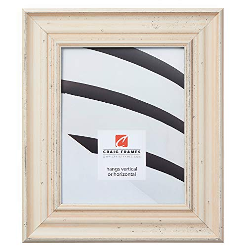 Craig Frames Appennine, Rustic Off-White Cream Picture Frame, 16 by 20-Inch