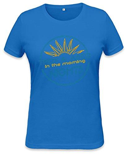 The Morning Nights Womens T-shirt Small