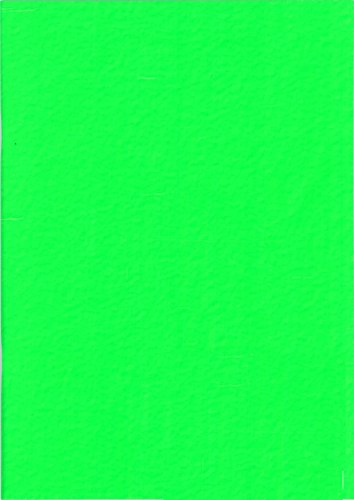 West carnet à dessin plastifié a3 jaune néon