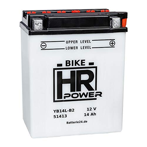 Motorrad Batterie Starterbatterie 12V 14Ah YB14L-B2 51413