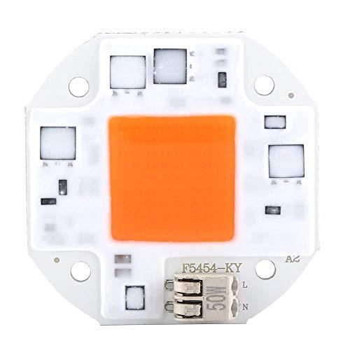 koulate Puissance élevée LED Puce, Usine À Spectre Complet Cultiver Composants De Diode D'émetteur Puce SMD SMD De Lumière LED pour Fleurs Croissant Lampe DIY Hydroponique (AC100-260V) (# 3)