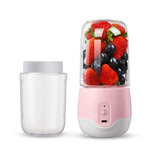 Baby rabbit-SS Mini Elektrische Saftpresse, Tragbare USB-Lade Design, Obst, Gemüse, Milchshake, Smoothie Mixer, Tasse 300Ml Saft,A