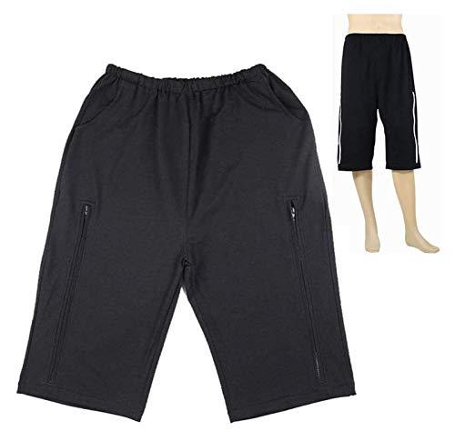 Pantalones de atención de incontinencia - Catéter Pantalones de almacenamiento para personas mayores y abdominales Paciente - Pantalones de bolsas de drenaje de orinar con bolsillo de doble bolsillo B