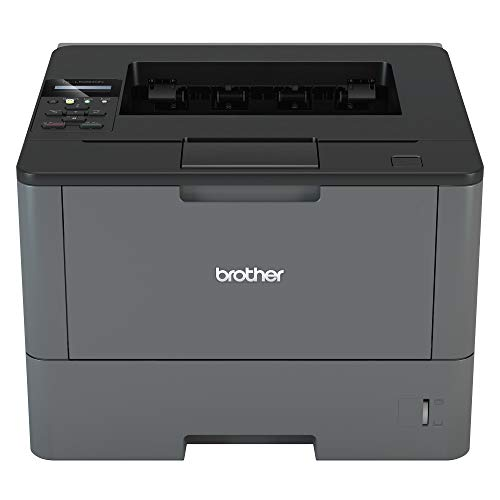 Brother HL-L5050DN Mono Laser Printer - Single Function, USB 2.0/Network, 2 Sided Printing, A4 Printer, Business Printer