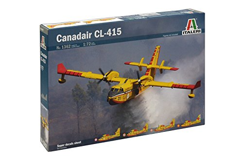 Italeri 1362 Canadair CL-415, model kit, aerei, plastica, scala 1:72