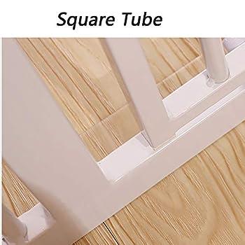 Porte en Métal Extra Large À Travers La Barrière for Animaux Domestiques for Escalier avec Rampe Et Mur, Hauteur 75 Cm, Largeur en Option (Size : 169-176cm)