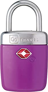 Design Go Travel Sentry Alert Lock Purple, One Size