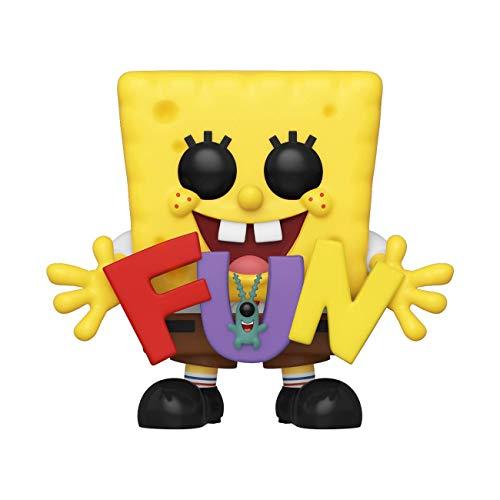 SPONGEBOB SQUAREPANTS Funko Pop! Animacion: Bob Esponja - Bob Esponja y Plankton Fun