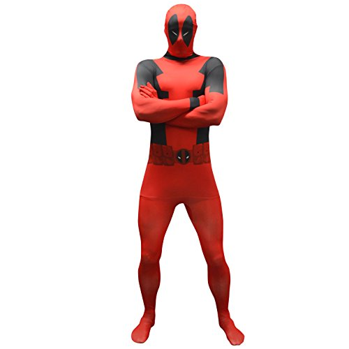 MARVEL Deadpool Morphsuit - Adult Licensed Costume Uomo: XXL