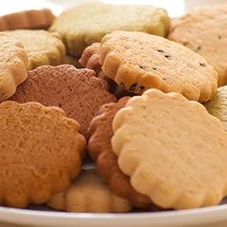 低脂肪!砂糖ゼロ♪かたウマ♪ホオリイの豆乳おからクッキー マンナン入り