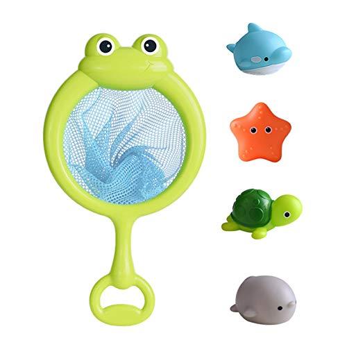 abcd123 Juguetes de baño para niños pequeños, iluminan animales y salpicaduras, con forma de pulpo de agua para jugar en la bañera, en el baño o en la piscina