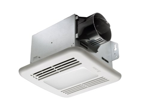Delta BreezGreenBuilder GBR80LED 80 CFM Exhaust Bath Fan with LED Light