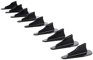 Roof Spoiler Compatible With Nissan EVO Style Vortex Generator Roof Spoiler Shark Fins PP Spoiler 10 Pcs Set by IKON MOTORSPORTS | 1997 1998 1999 2000 2001 2002 2003 2004 2005 2006 2007 2008 2009 2010