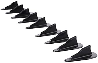 Roof Spoiler Compatible With Nissan EVO Style Vortex Generator Roof Spoiler Shark Fins PP Spoiler 10 Pcs Set by IKON MOTORSPORTS | 1997 1998 1999 2000 2001 2002 2003 2004 2005 2006 2007 2008 2009 2010