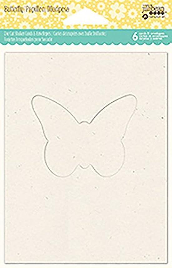 Hampton Art Butterfly Jillibean Soup Shaker Cards W/Envelopes