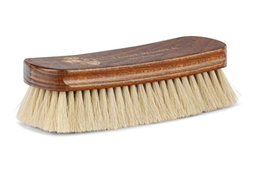 Langer & Messmer Schuhbürste aus Rosshaar zum Polieren Ihrer Schuhe - Die Polierbürste für die professionelle Schuhpflege