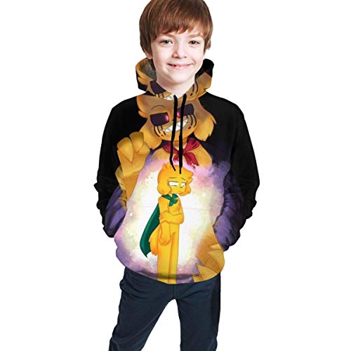 maichengxuan Mikecra-CK Impresión Digital 3D de Moda, Suéter con Capucha para Adolescentes Sudadera con Capucha Cómoda para Niños/Niñas