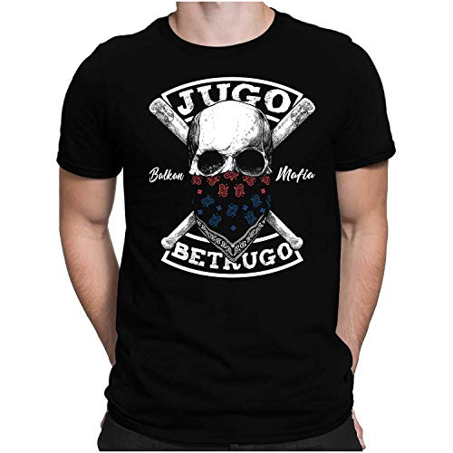PAPAYANA - Jugo Betrugo - Herren Fun T-Shirt - Regular Fit XL Schwarz