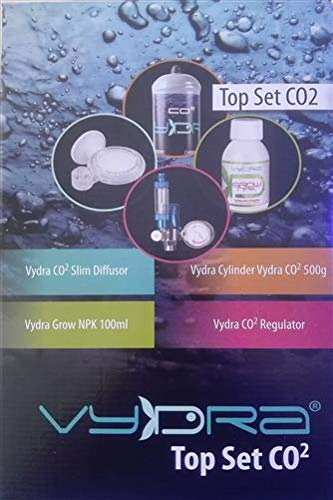 Vydra Kit Top Set CO2 IMPIANTO ANIDRIDE CARBONICA Completo USA E Getta BOMBOLA 500g INTEGRATORE Acquario Aquarium Freshwater CO2
