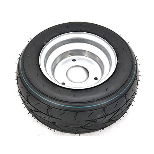 XXWW CXWHYPD Llantas ensanchadas de 10 Pulgadas 10x6.00-6 Ruedas de neumáticos sin tristes for neumáticos de vacío de Motocicleta Ruedas de 3 Orificios (Color : 10x6.00-6 Wheel)