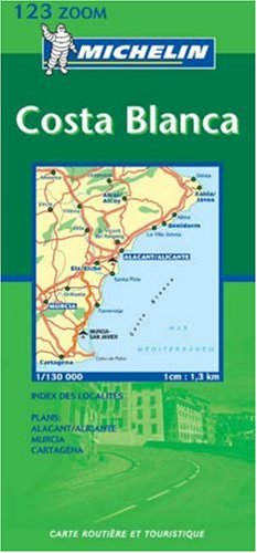 Carte routière : Costa Blanca, N° 1123