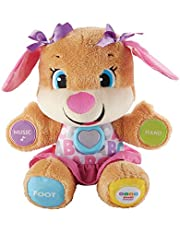 Fisher-Price Laugh and Learn Puppy, blauw of roze.